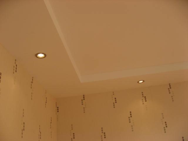 Как сделать простой потолок из гипсокартона своими руками