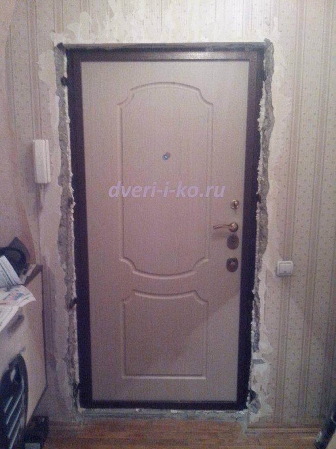 Как установить доборы на входную дверь своими