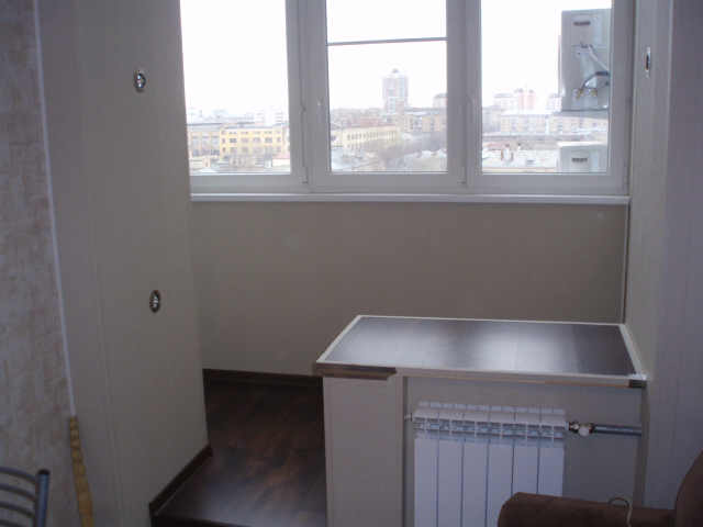 Внутренняя отделка,утепление балконов и лоджий,объединени....