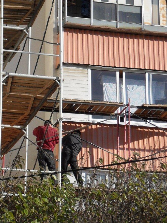 Ремонт фасадов, остекление балконов юрий витальевич - kvarti.