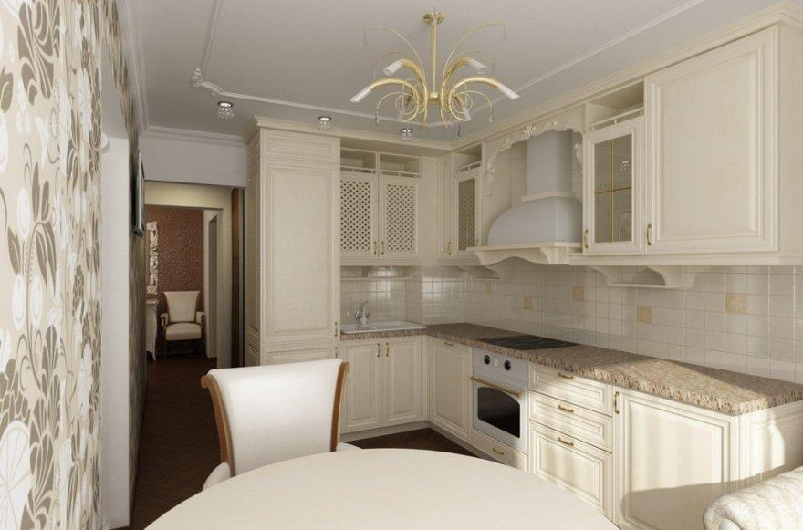 современная кухня в квартире фото