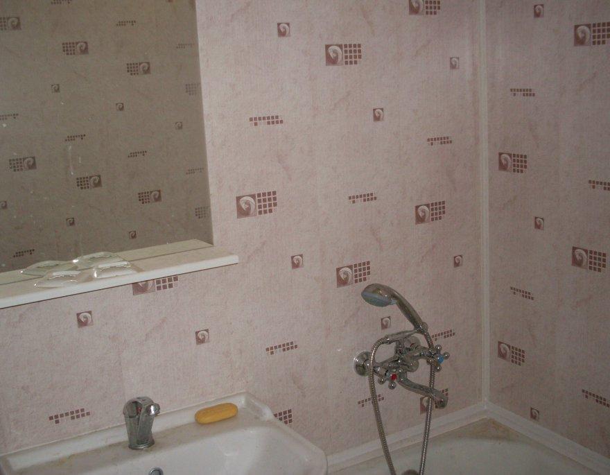 Как сделать ремонт в ванной панелями из пвх 896