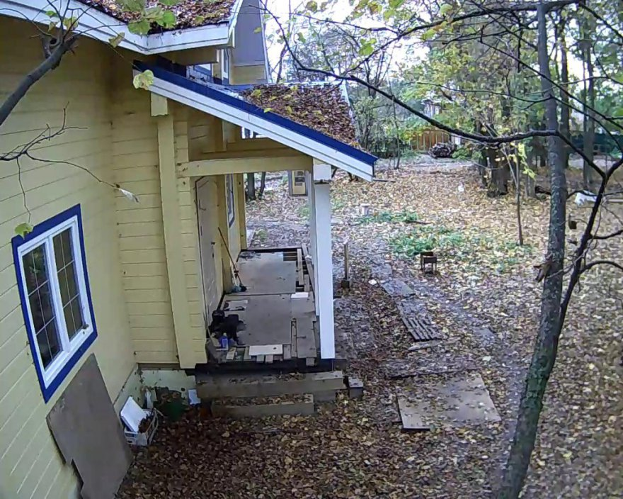 Организация видеонаблюдения на даче своими руками 14