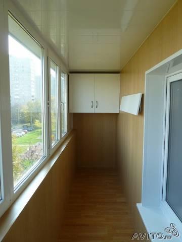 Навесной шкаф на балкон.