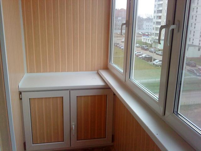 Отделка балкона изнутри фото